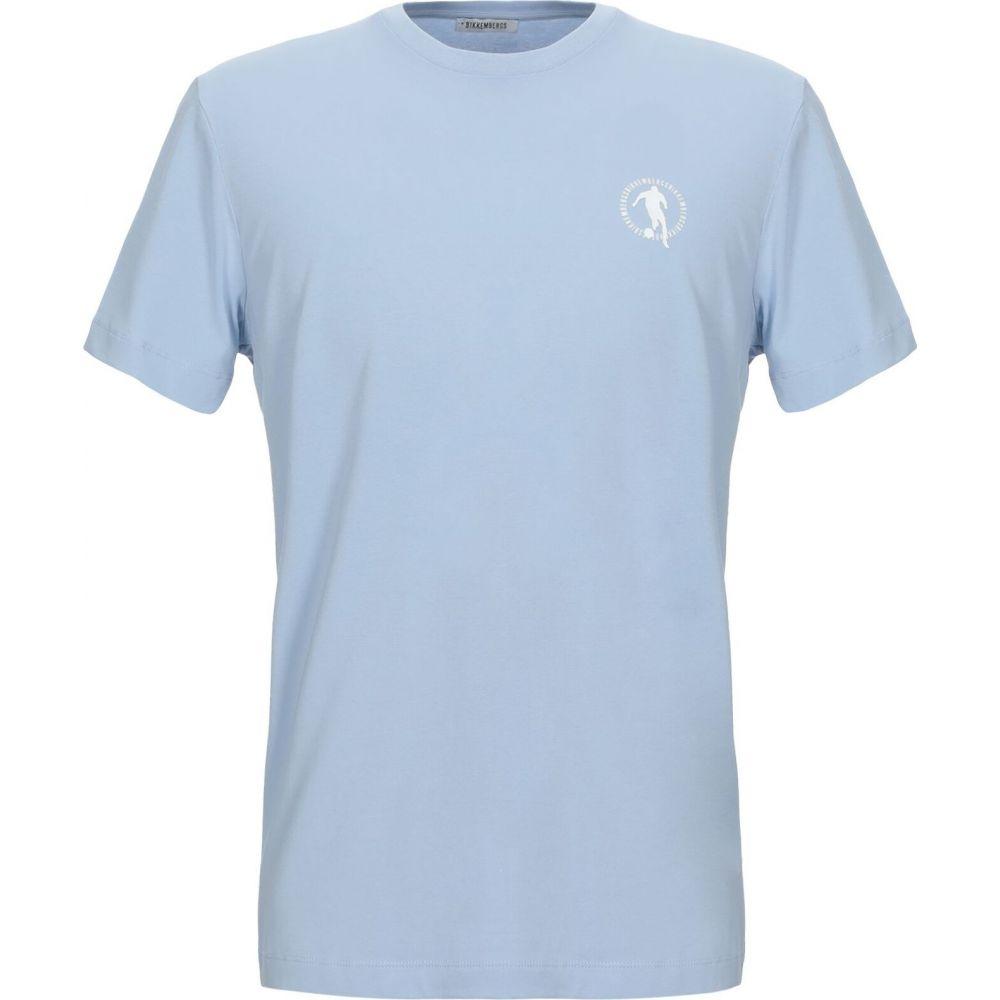 blue Tシャツ トップス【t-shirt】Sky メンズ BIKKEMBERGS ビッケンバーグ