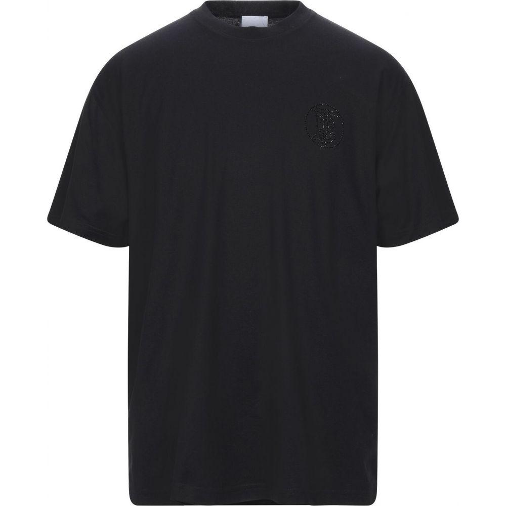 バーバリー BURBERRY メンズ Tシャツ トップス【t-shirt】Black