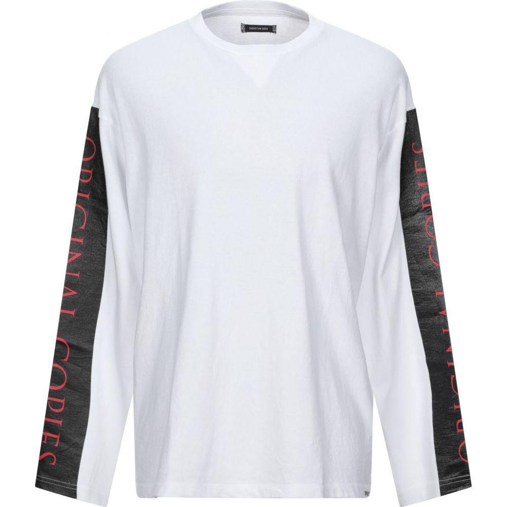 クリスチャン ダダ CHRISTIAN DADA メンズ Tシャツ トップス【t-shirt】White