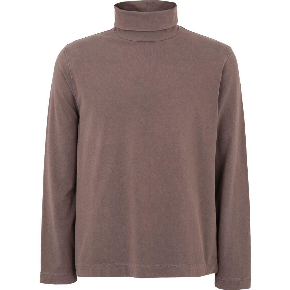 チルコロ1901 CIRCOLO 1901 メンズ Tシャツ トップス【t-shirt】Cocoa