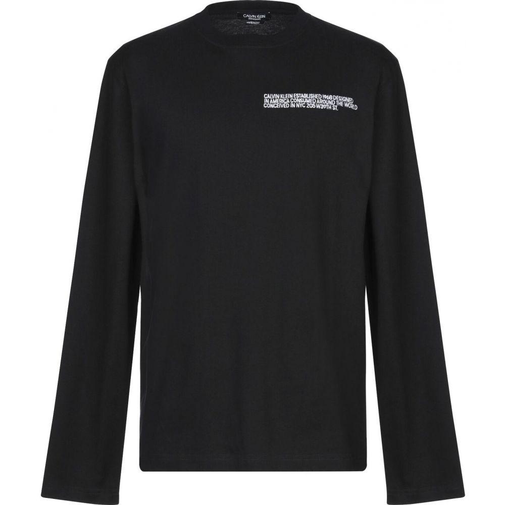 カルバンクライン CALVIN KLEIN 205W39NYC メンズ Tシャツ トップス【t-shirt】Black