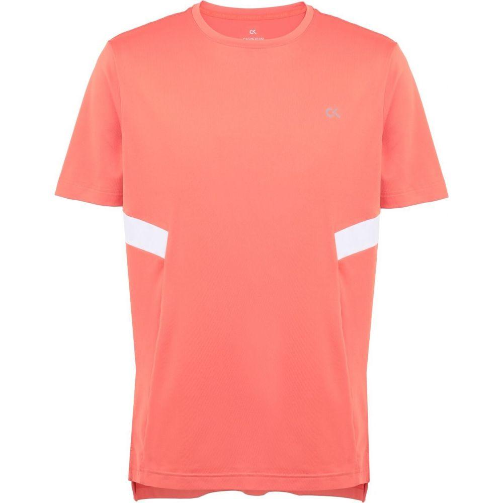 カルバンクライン CALVIN KLEIN PERFORMANCE メンズ Tシャツ トップス【short sleeve t-shirt】Coral