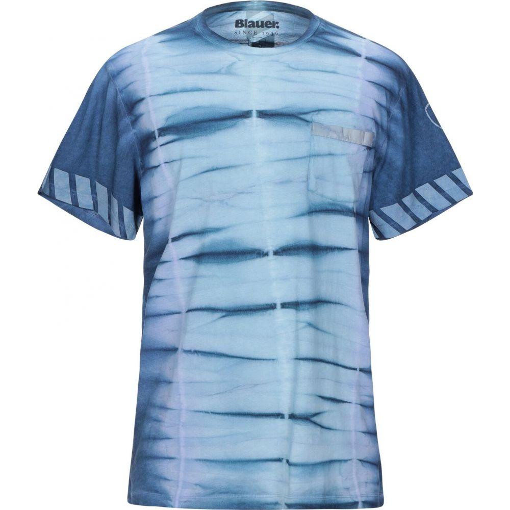 ブラウアー BLAUER メンズ Tシャツ トップス【t-shirt】Blue