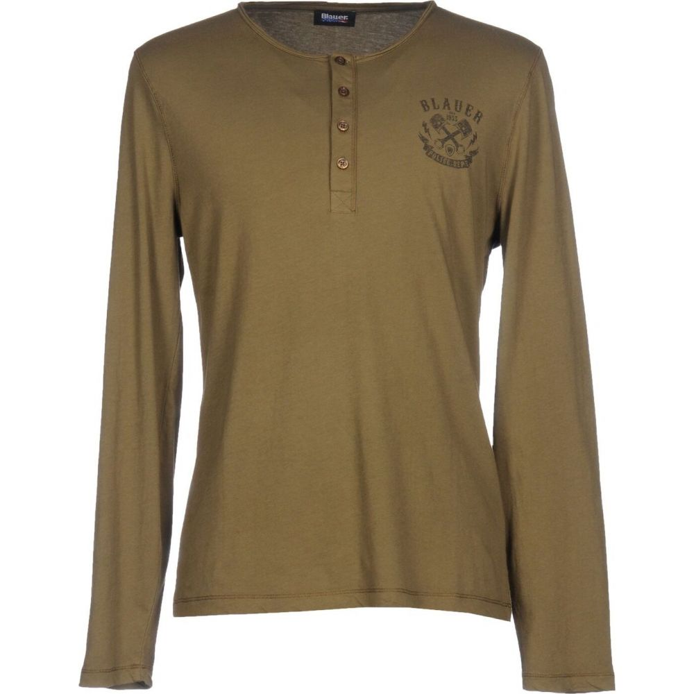 ブラウアー BLAUER メンズ Tシャツ トップス【t-shirt】Military green