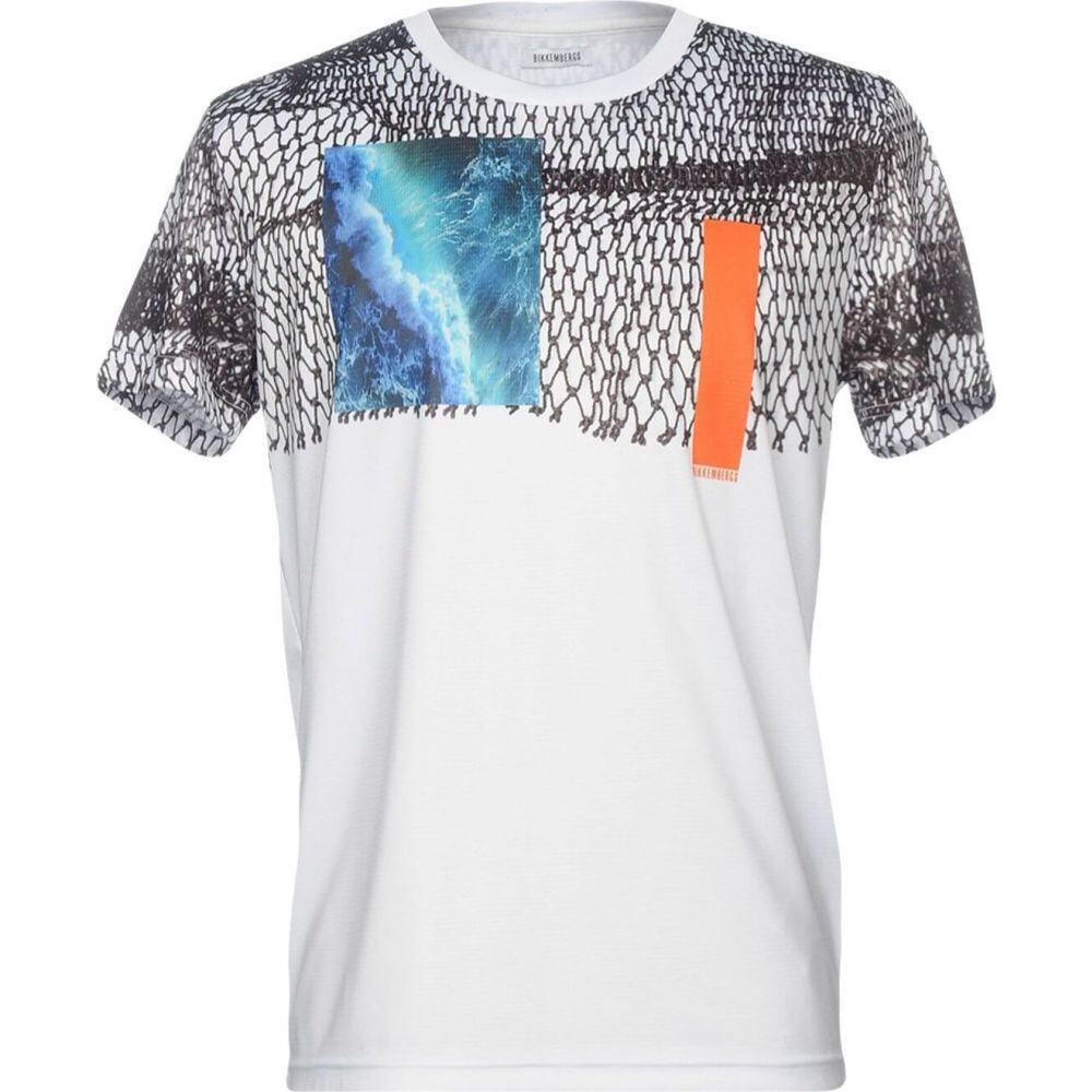ビッケンバーグ BIKKEMBERGS メンズ Tシャツ トップス【t-shirt】White