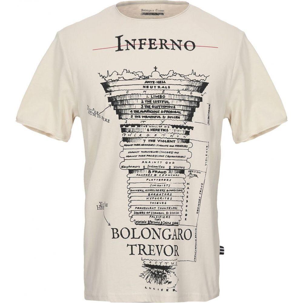 ボロンガロトレバー BOLONGARO TREVOR メンズ Tシャツ トップス【t-shirt】Beige