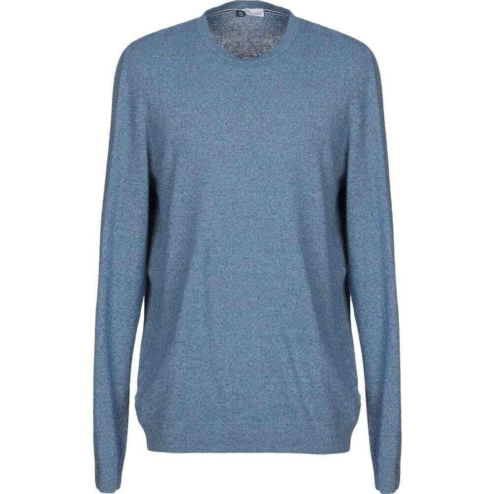 ヘリテイジ HERITAGE メンズ ニット・セーター トップス【sweater】Slate blue