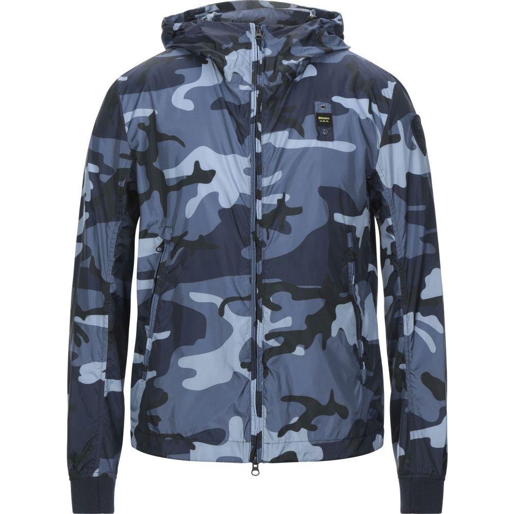 最も  ブラウアー BLAUER メンズ ジャケット アウター【jacket】Slate blue, 南信濃村 f8eb3689