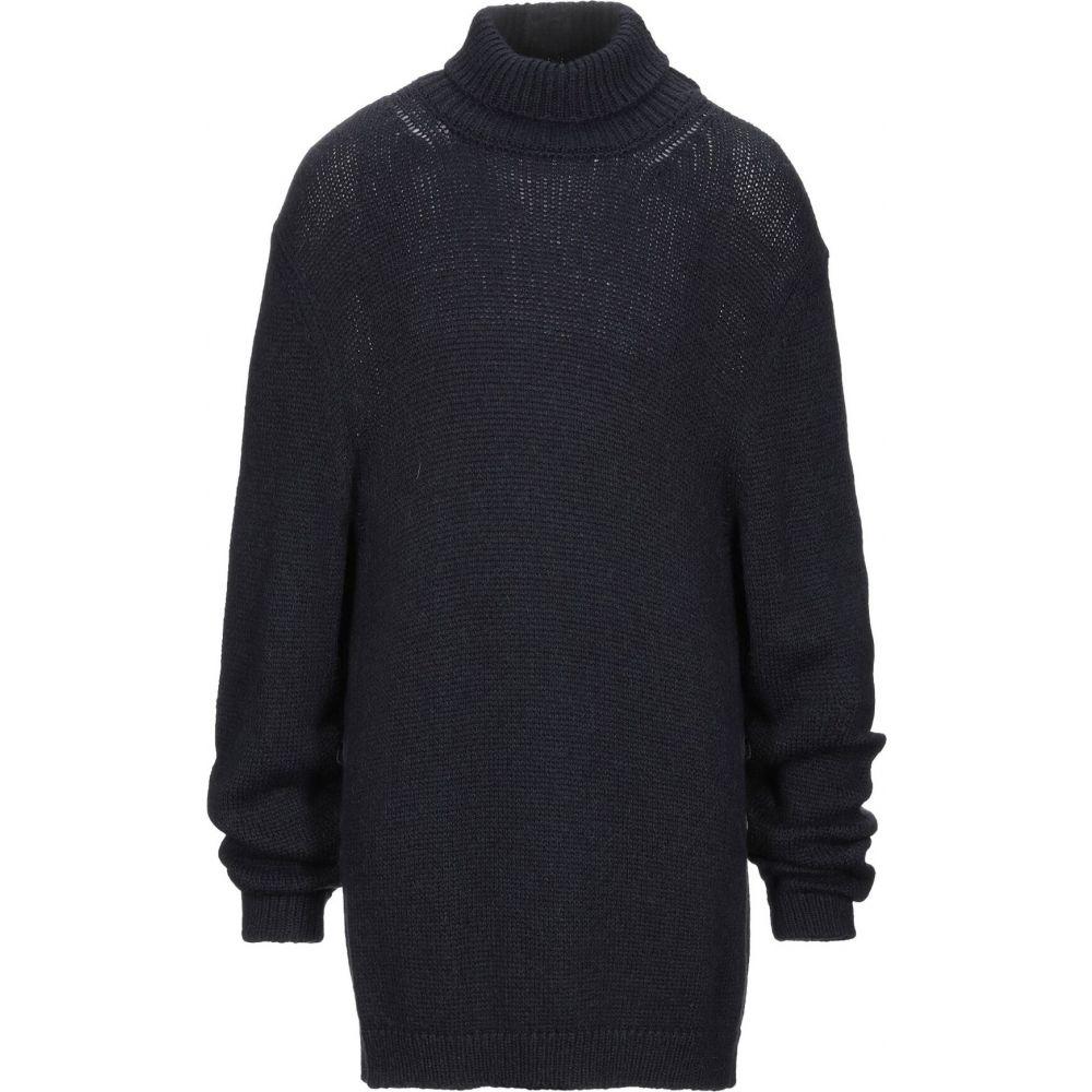 マッシモ アルバ MASSIMO ALBA メンズ ニット・セーター トップス【turtleneck】Slate blue