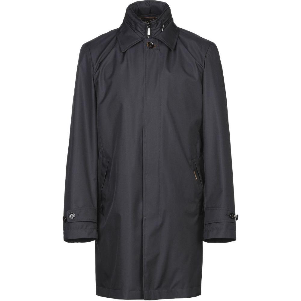 アウター【coat】Dark メンズ ムーレー blue コート MOORER