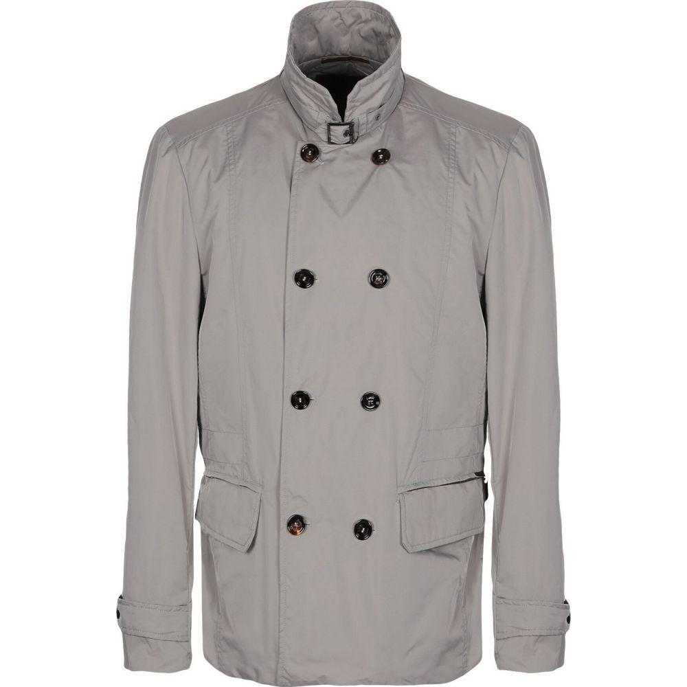 55%以上節約 ムーレー MOORER メンズ コート ピーコート アウター【double breasted pea coat】Light grey, オヤマシ 174c9d2d