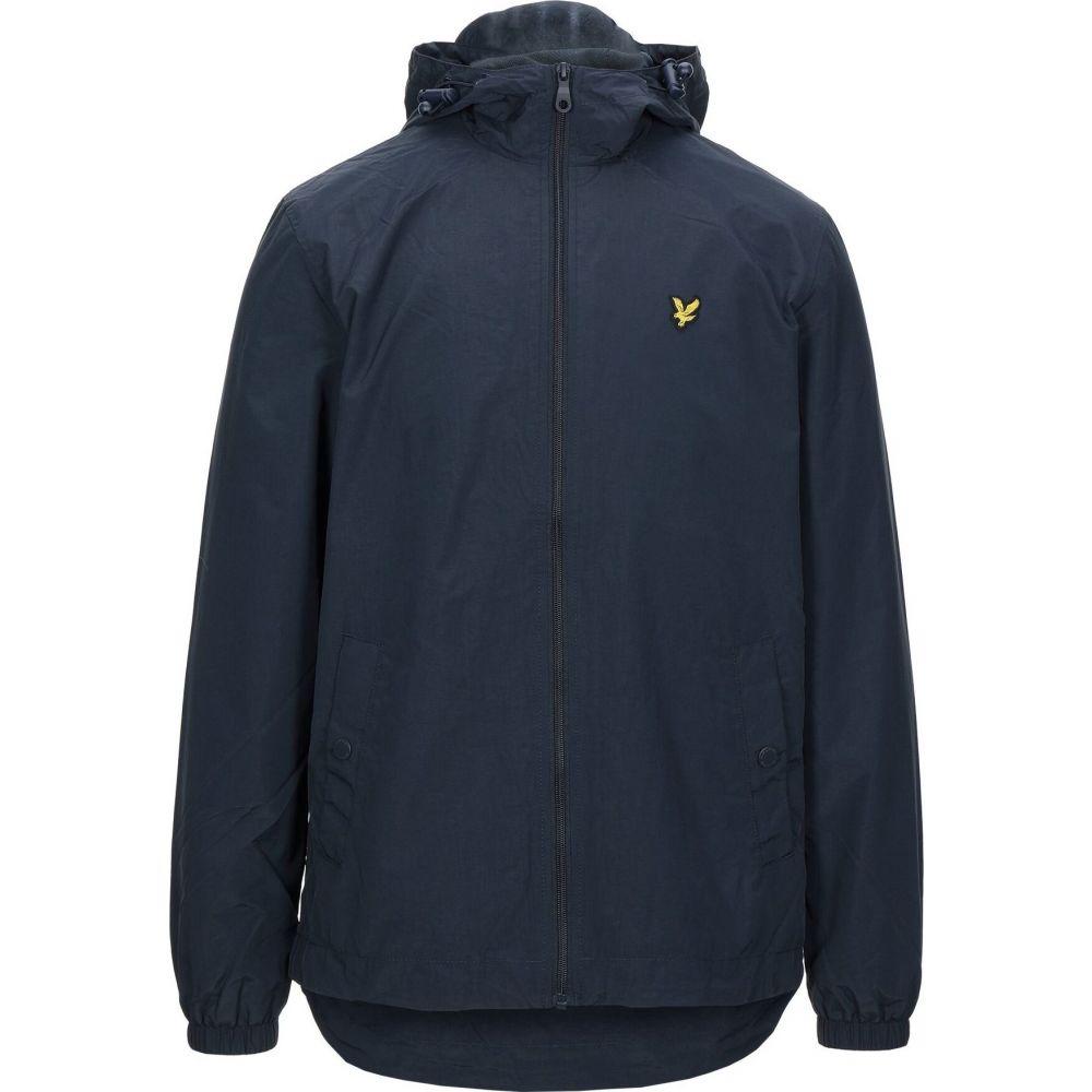 <title>ライル アンド スコット 海外並行輸入正規品 メンズ アウター ジャケット Dark blue サイズ交換無料 LYLE SCOTT jacket</title>