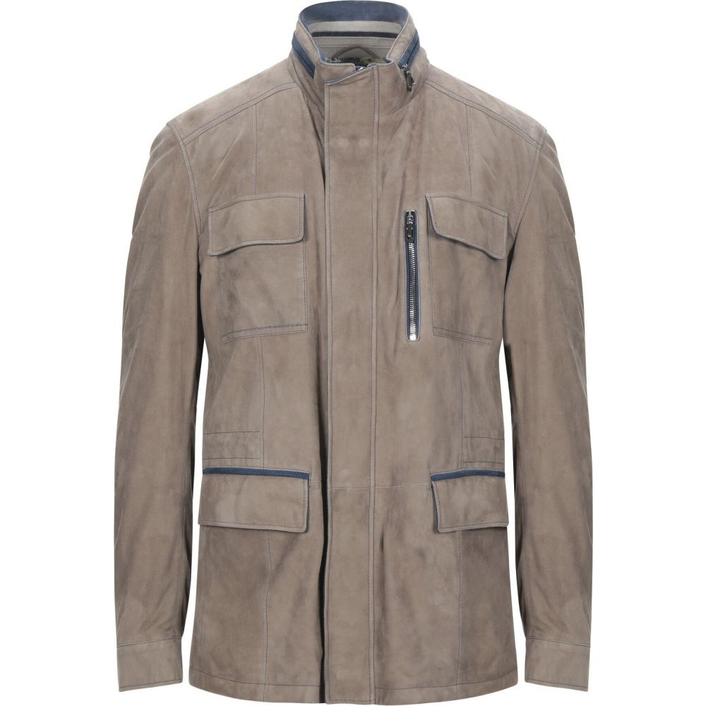 レザー LATINI FINEST ラティーニ メンズ アウター【leather jacket】Beige レザージャケット LEATHER ファイネスト
