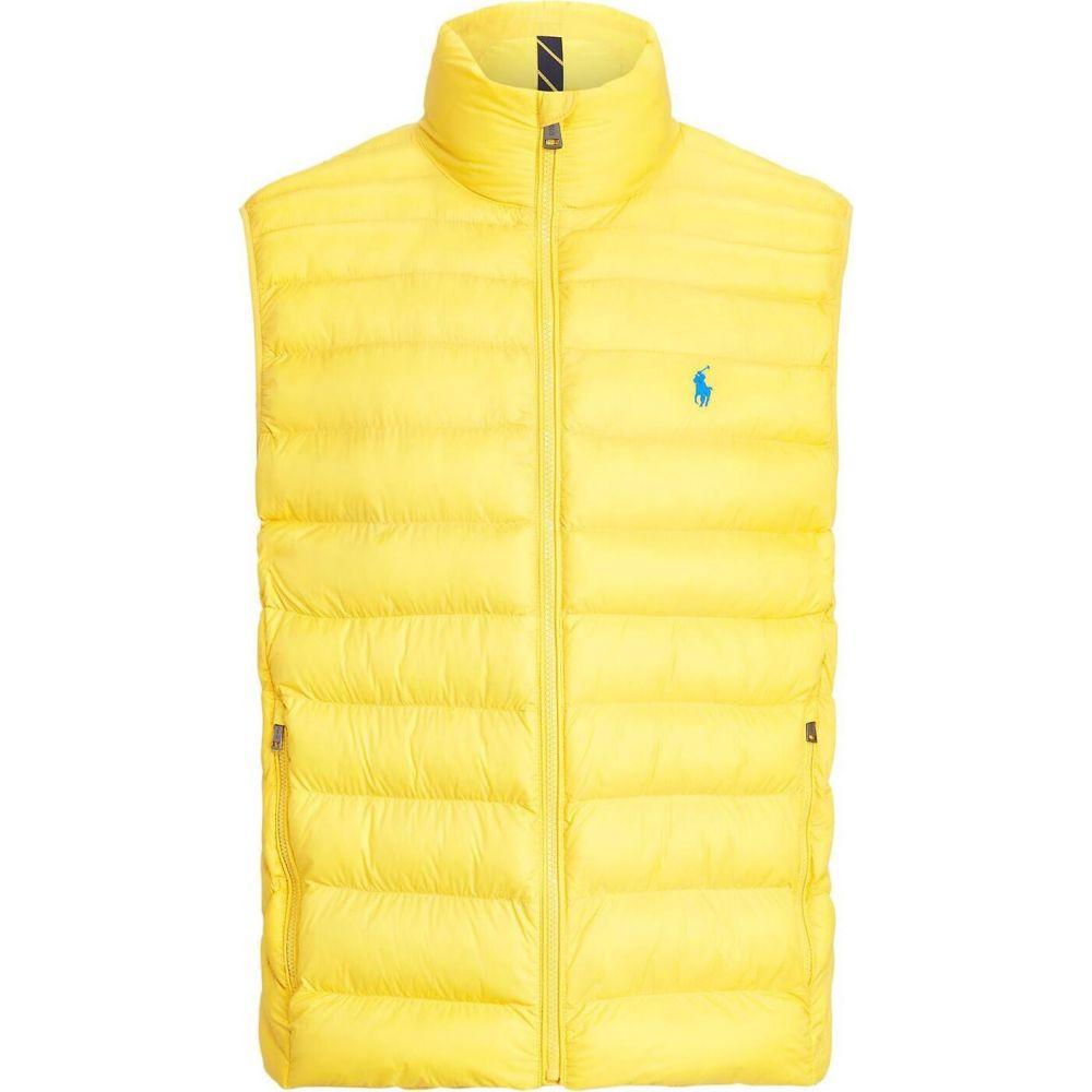ラルフ ローレン POLO RALPH LAUREN メンズ ベスト・ジレ トップス【packable quilted vest synthetic padding】Yellow