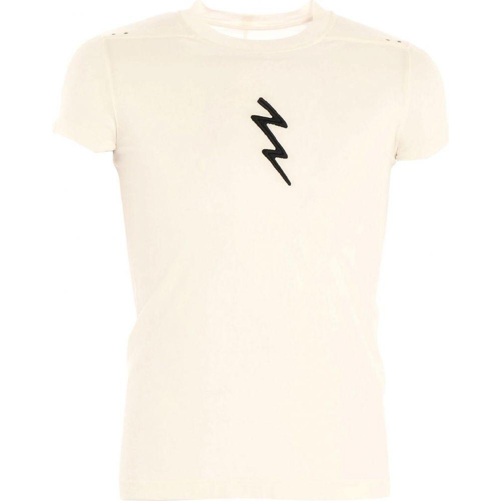 リック オウエンス RICK OWENS メンズ Tシャツ トップス【t-shirt】White