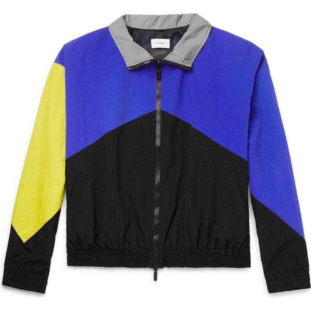 【人気ショップが最安値挑戦!】 ルード アウター【jacket】Blue RHUDE メンズ ジャケット ジャケット アウター【jacket RHUDE】Blue, 日の出工芸社:6764d2aa --- experiencesar.com.ar
