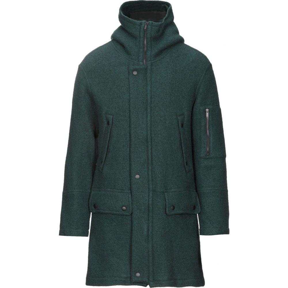 ラウンド  ロベルトコリーナ ROBERTO green COLLINA メンズ ロベルトコリーナ コート アウター【coat】Dark コート green, 低価格で大人気の:9e287e64 --- experiencesar.com.ar