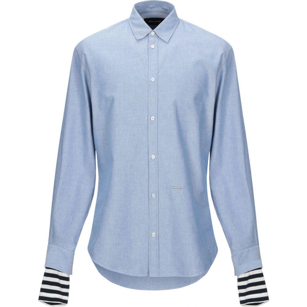 ディースクエアード DSQUARED2 メンズ シャツ トップス【solid color shirt】Sky blue