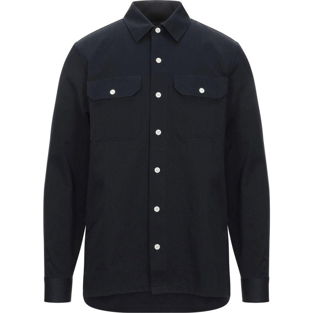 カーハート CARHARTT メンズ シャツ トップス【solid color shirt】Dark blue