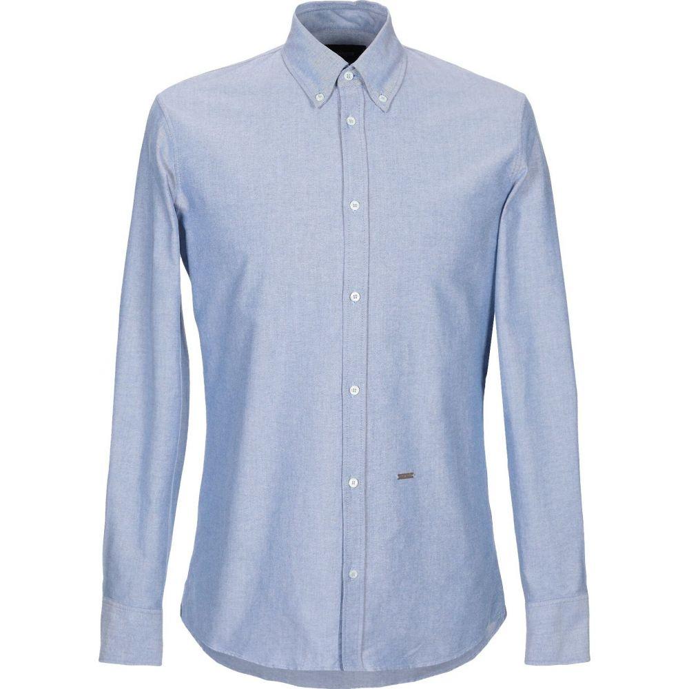 ディースクエアード DSQUARED2 メンズ シャツ トップス【solid color shirt】Blue