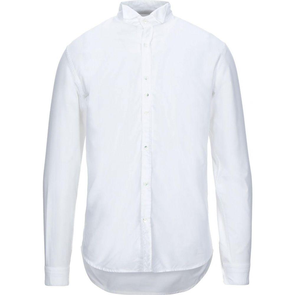 コストメイン COSTUMEIN メンズ シャツ トップス【solid color shirt】White