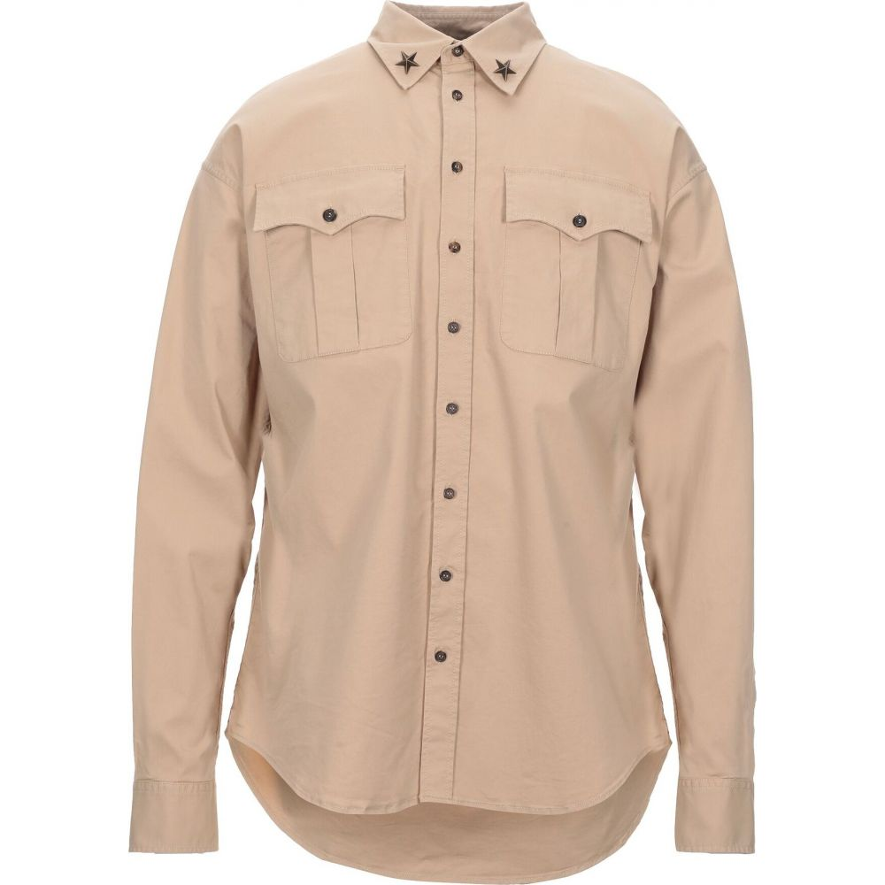 ディースクエアード DSQUARED2 メンズ シャツ トップス【solid color shirt】Camel