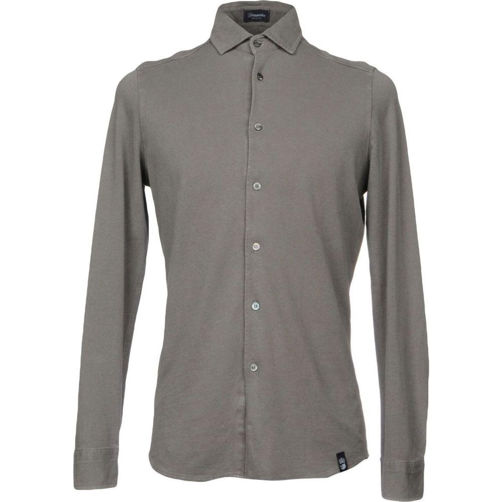 ドルモア DRUMOHR メンズ シャツ トップス【solid color shirt】Grey