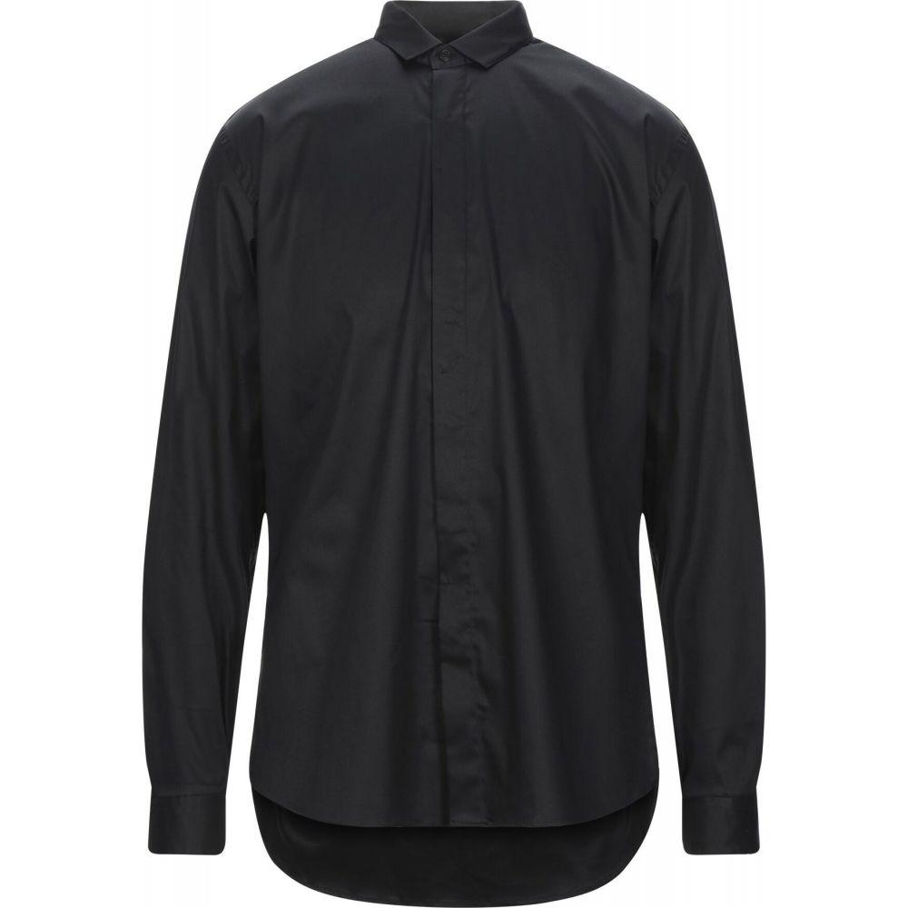 コストメイン COSTUMEIN メンズ シャツ トップス【solid color shirt】Black
