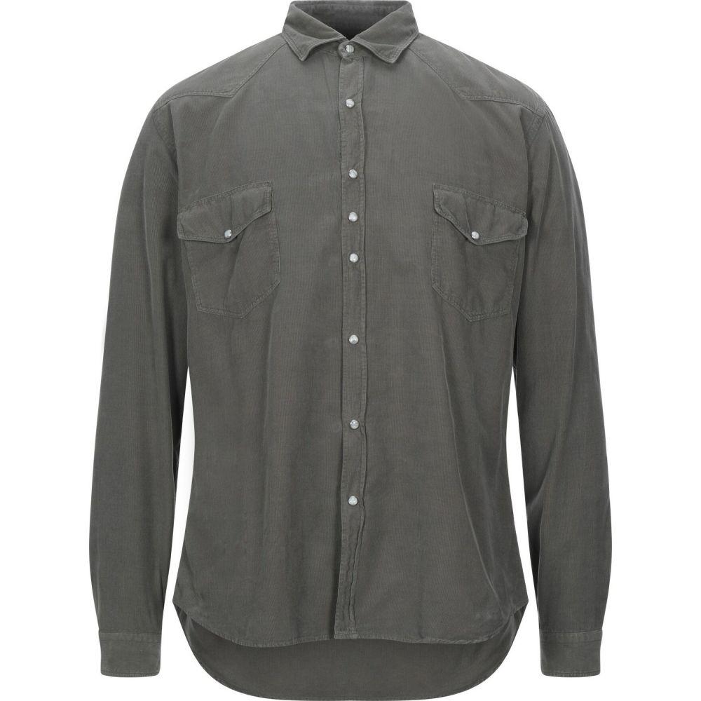 コストメイン COSTUMEIN メンズ シャツ トップス【solid color shirt】Military green