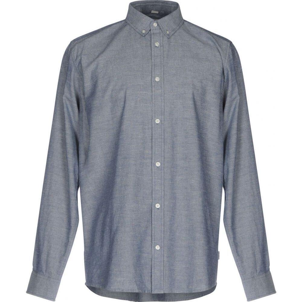 カーハート CARHARTT メンズ シャツ トップス【solid color shirt】Blue