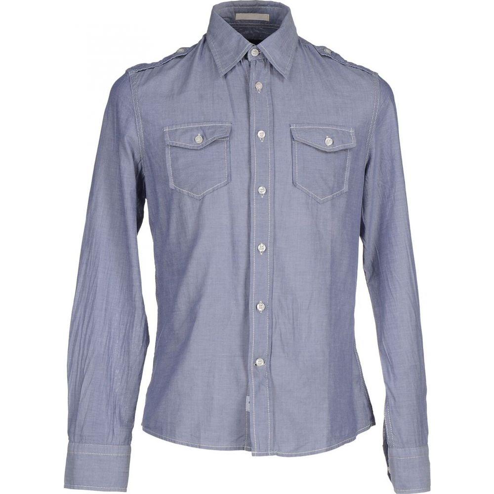 ブラウアー BLAUER メンズ シャツ トップス【solid color shirt】Lilac