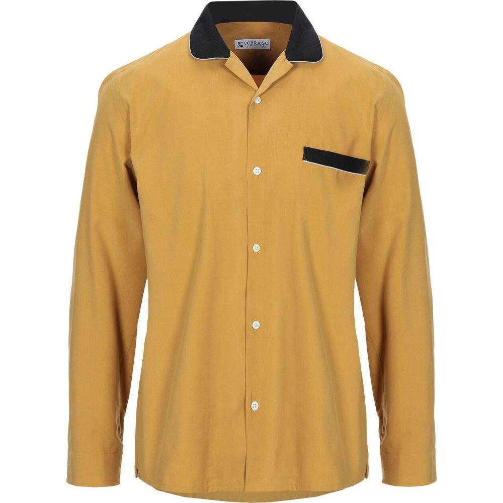 コブラ S.C. COBRA S.C. メンズ シャツ トップス【solid color shirt】Ocher