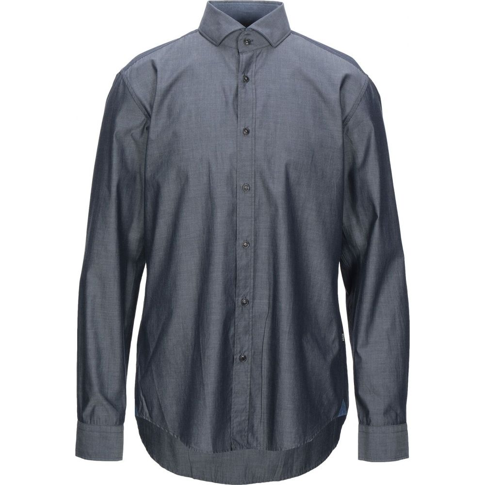ヒューゴ ボス BOSS HUGO BOSS メンズ シャツ トップス【solid color shirt】Lead