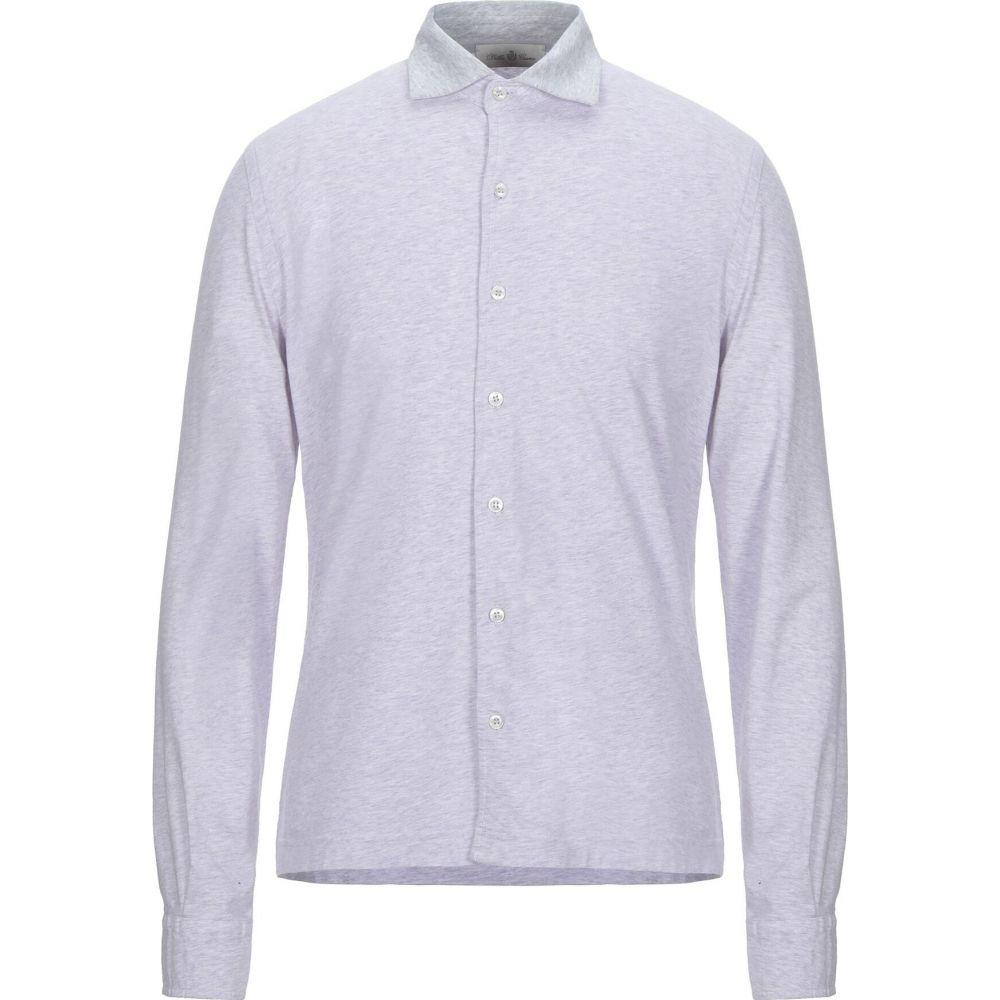 デラ チアーナ DELLA CIANA メンズ シャツ トップス【solid color shirt】Lilac