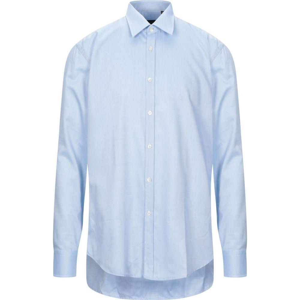ヒューゴ ボス BOSS HUGO BOSS メンズ シャツ トップス【solid color shirt】Sky blue