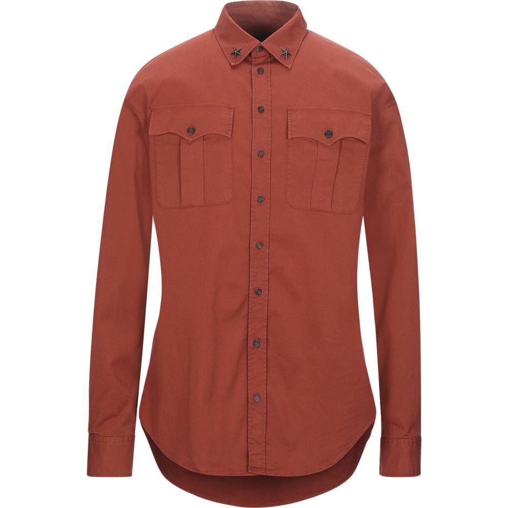 ディースクエアード DSQUARED2 メンズ シャツ トップス【solid color shirt】Rust