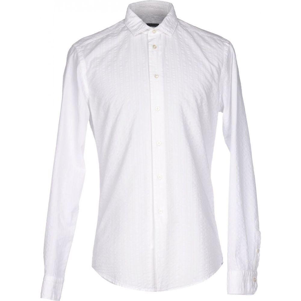 ブライアン デールズ BRIAN DALES メンズ シャツ トップス【solid color shirt】White