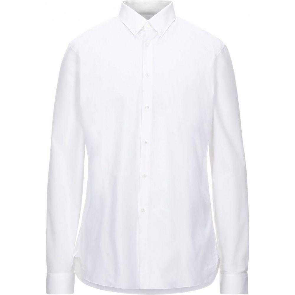 バーバリー BURBERRY メンズ シャツ トップス【solid color shirt】White