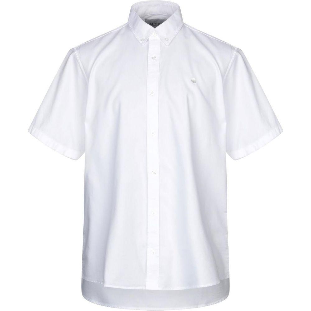 カーハート CARHARTT メンズ シャツ トップス【solid color shirt】White