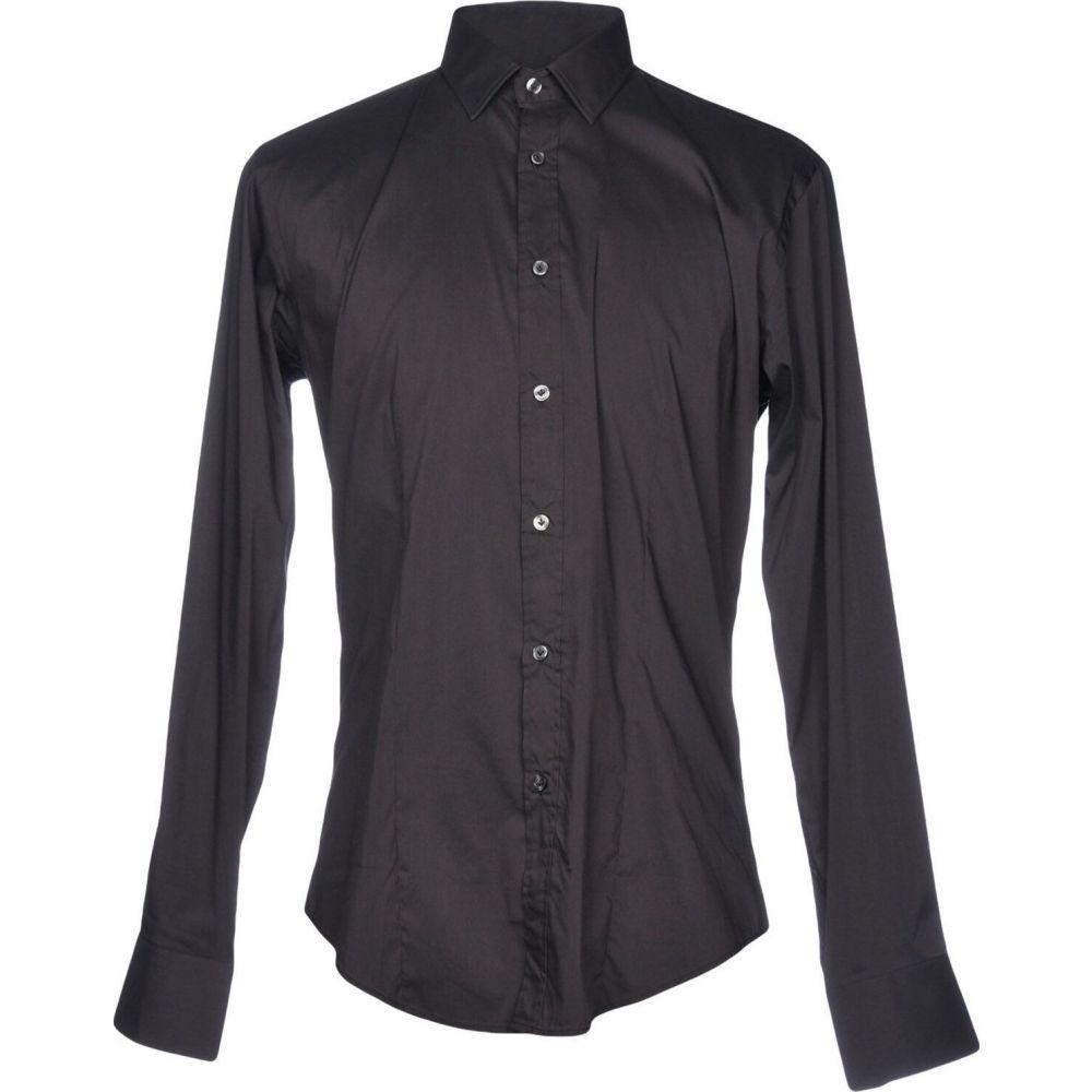 ブライアン デールズ BRIAN DALES メンズ シャツ トップス【solid color shirt】Steel grey