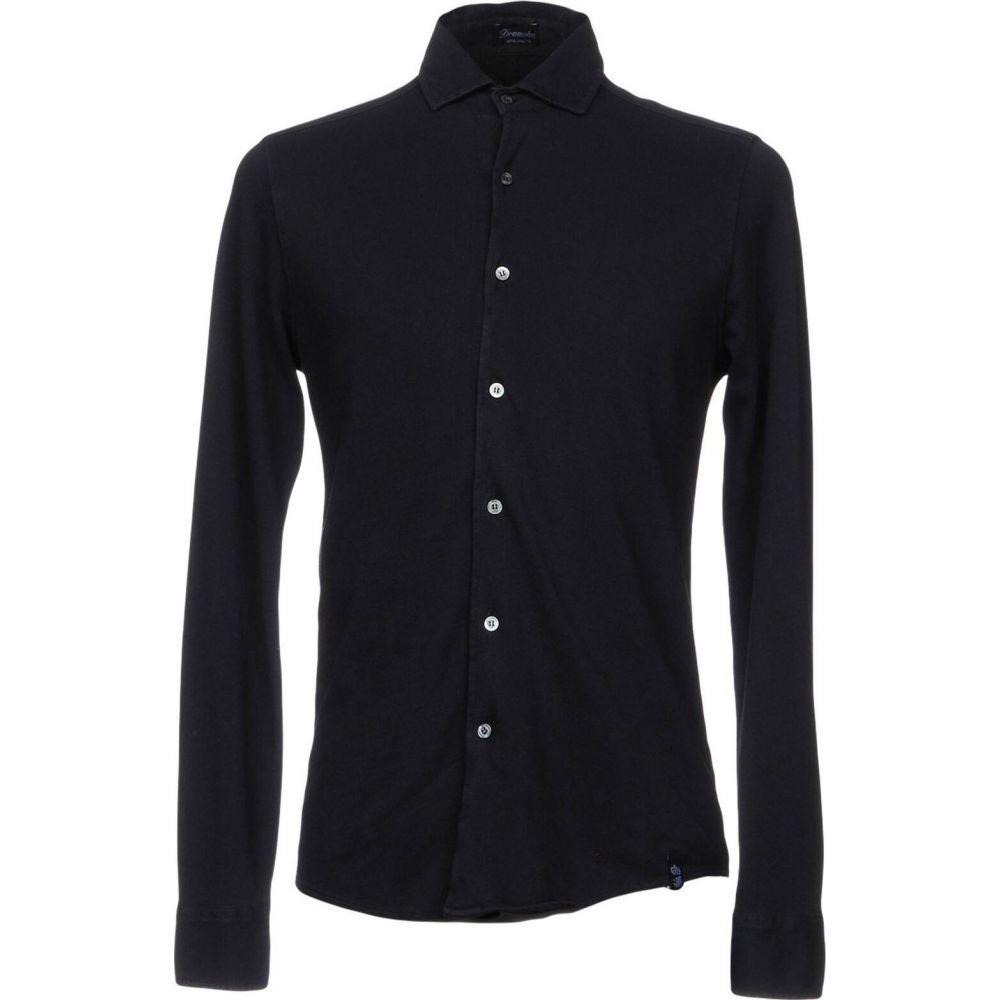 ドルモア DRUMOHR メンズ シャツ トップス【solid color shirt】Dark blue