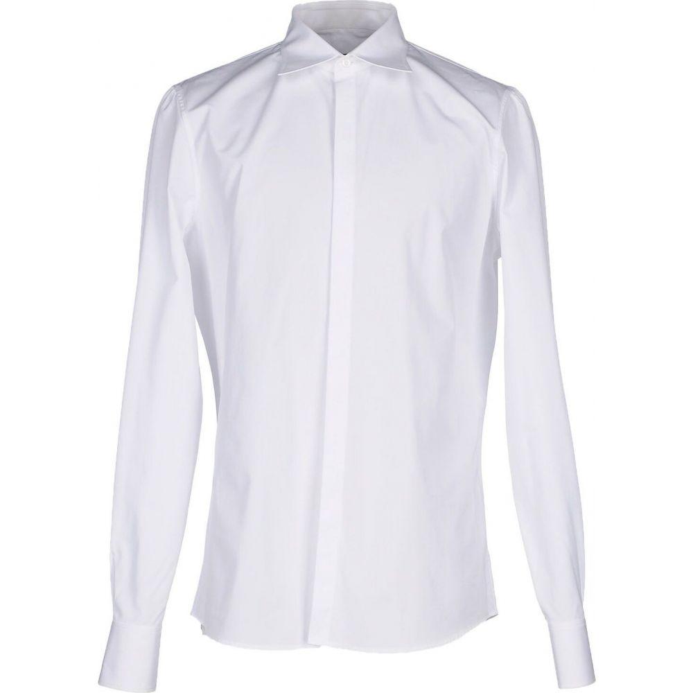 ディースクエアード DSQUARED2 メンズ シャツ トップス【solid color shirt】White