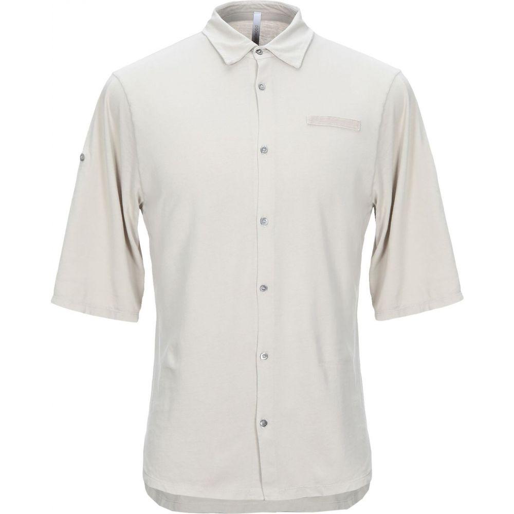 ベルウッド BELLWOOD メンズ シャツ トップス【solid color shirt】Light grey