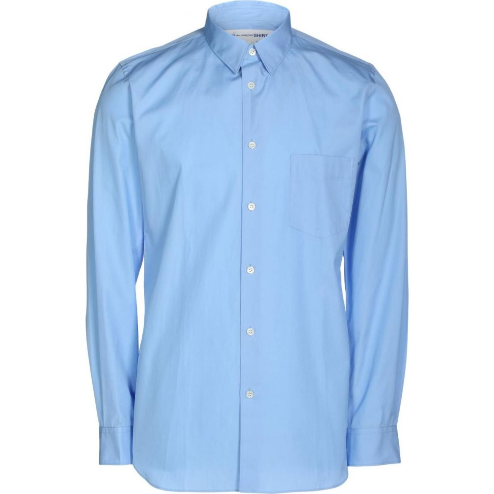 コム デ ギャルソン COMME des GARCONS メンズ シャツ トップス【solid color shirt】Sky blue