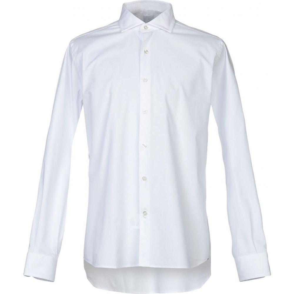 ドメニコ タリエンテ DOMENICO TAGLIENTE メンズ シャツ トップス【solid color shirt】White