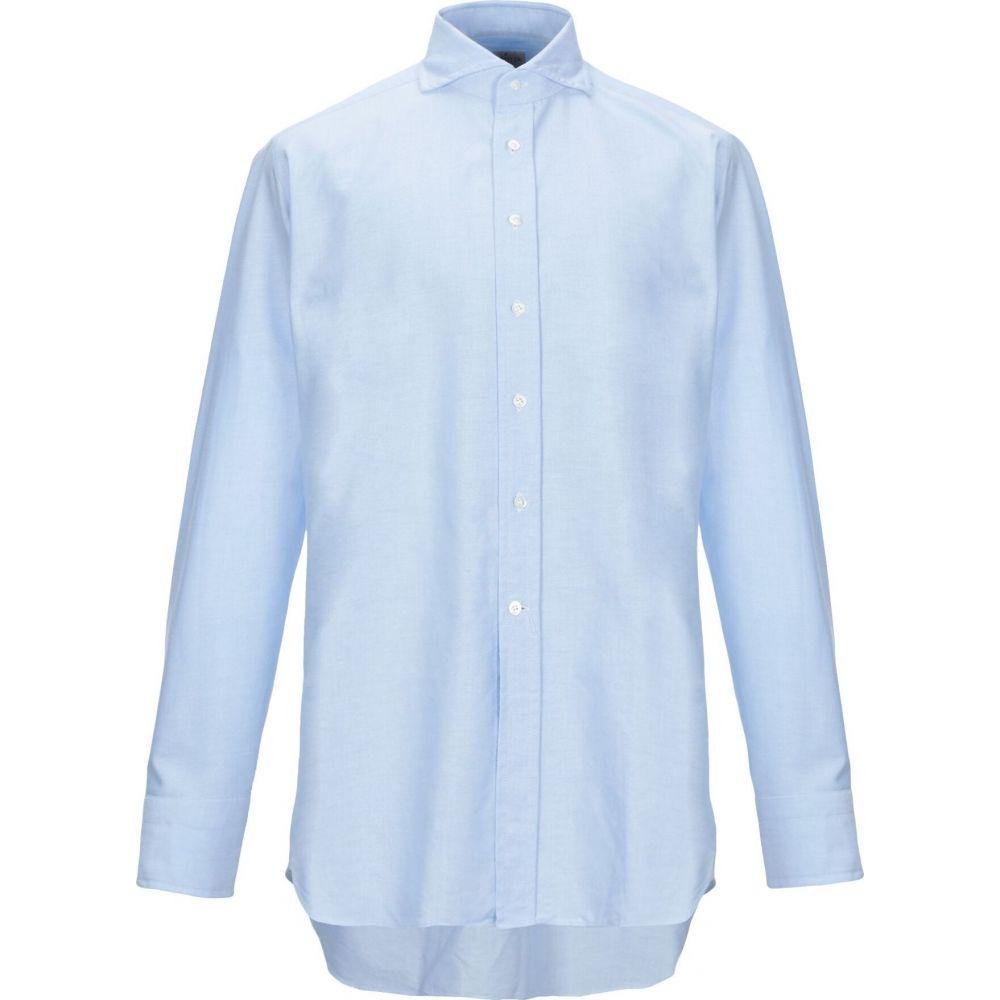 バグッタ BAGUTTA メンズ シャツ トップス【solid color shirt】Sky blue