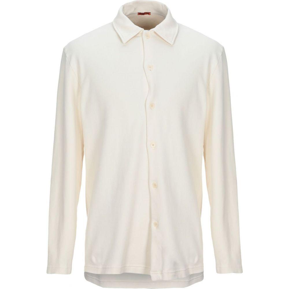 バレナ BARENA メンズ シャツ トップス【solid color shirt】Beige