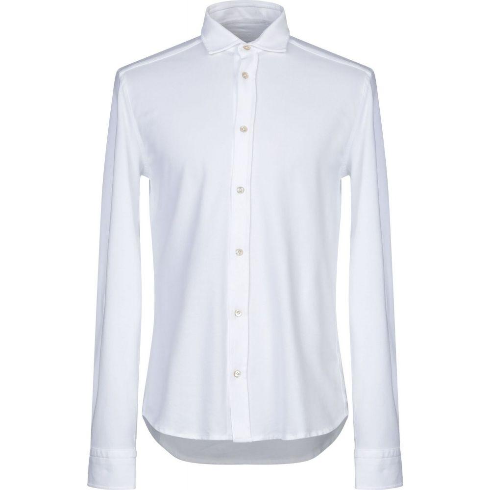 チルコロ1901 CIRCOLO 1901 メンズ シャツ トップス【solid color shirt】White