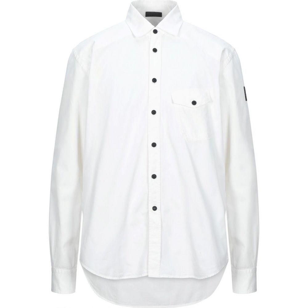 ベルスタッフ BELSTAFF メンズ シャツ トップス【solid color shirt】White
