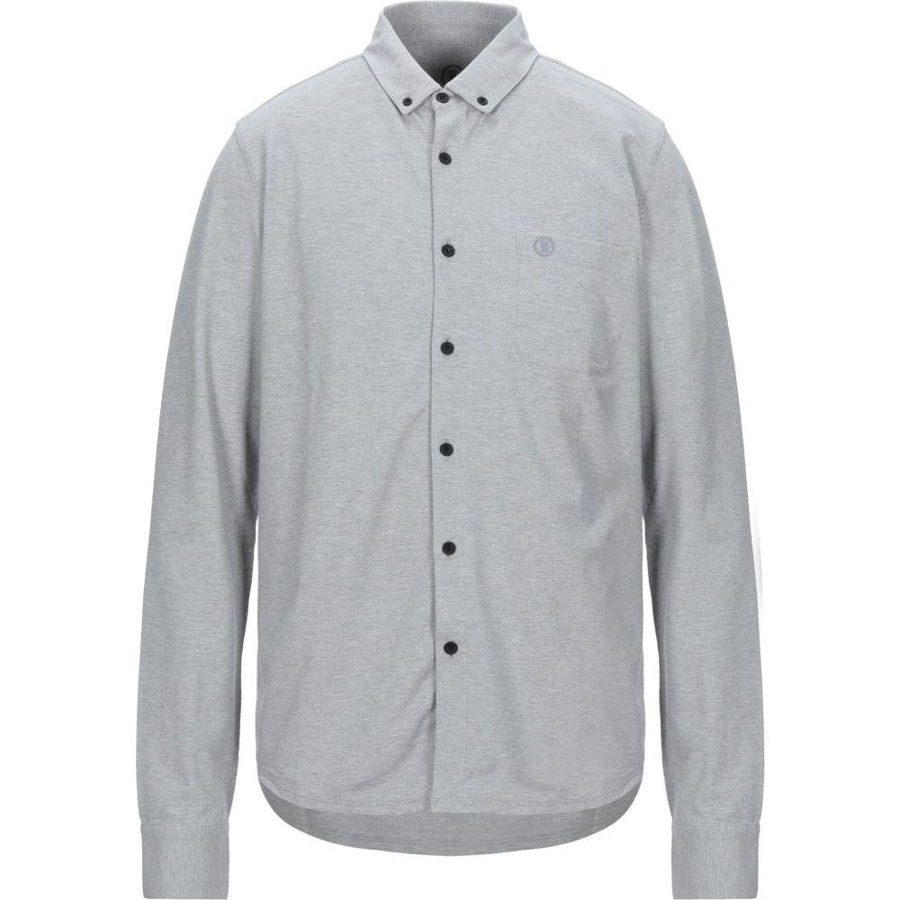 ボグナー BOGNER メンズ シャツ トップス【solid color shirt】Light grey